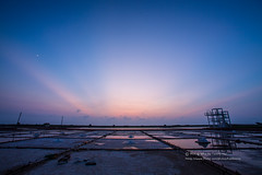 井仔腳 (湯小米) Tags: canon 1dx ef1635mmf28l 鹽田 井仔腳 台南 霞光 sunset