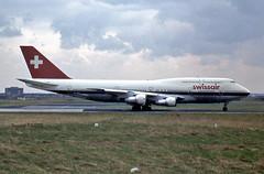 Boeing 747-357M HB-IGC Swissair (EI-DTG) Tags: shannonairport einn snn b747 boeing747 queenoftheskies hbigc swissair