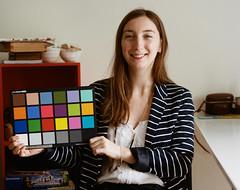 Color Checker - Kodak Portra 400 (dimitri.sorel) Tags: kodak portra portra400 kodakportra400 couleur mamiya rb67 pellicule film 120 color checker xrite colorchart chart dégradé femme visage