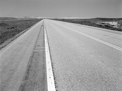 On The Road (LarsHolte) Tags: pentax 645 pentax645 645n 6x45 smcpentaxa 35mm f35 120 film 120film analog analogue kosmo foto mono 100iso mediumformat blackandwhite classicblackwhite bw monochrome filmforever filmphotography d76 ishootfilm larsholte homeprocessing usa southdakota scenic badlands highway sd44