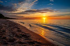 26/52 - Marquette Sunset (jonwhitaker74) Tags: michigan up sunset lake superior