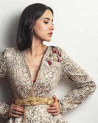 Jihane (aminefassi) Tags: 85mmf18 aminefassi beauty broderie brodery caftan casablanca dress fashion godox kaftan maroc mode morocco onelight people portrait sony studio whitebackground woman