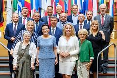 Delegacja PO w 9. kadencji Parlamentu Europejskiego. Parliament Europejski,  Strasbourg 2.07.2019. Fot. Martin Lahausse