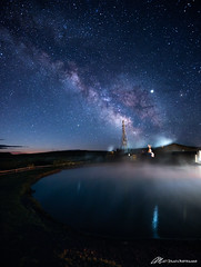Hot water, hot stars (Matt Straite Photography) Tags: hot water lake spring natural oregon central night astro milky way stars sky historical history lava tripod dark
