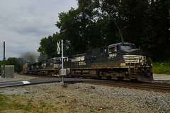 NORFOLK SOUTHERN 22N AT MAPLETON, GA (railfan1967) Tags: ns ns22n norfolksouthern intermodal train mapleton georgia ge c449w ns9640 nsclassicscheme