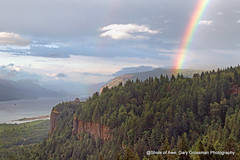 Columbia River Gorge (Gary Grossman) Tags: river gorge scenic landscape rainbow summer july forest trees clouds nature oregon garygrossman garygrossmanphotography pacificnorthwest columbiarivergorge vistahouse nationalscenicarea