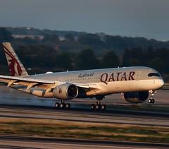 Qatar Airways / Airbus A350-941 / A7-ALV (vic_206) Tags: qatarairways airbusa350941 a7alv bcn lebl