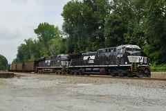 NORFOLK SOUTHERN 732 AT MAPLETON, GA (railfan1967) Tags: ns norfolksouthern ns732 unitcoal train mapleton georgia ge ac44c6m ns4031 es44ac ns8167