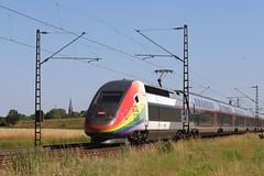 SNCF TGV 4712 310023, 50 Ans de Fièrtès LGBT, Graben (michaelgoll777) Tags: sncf tgv lgbt
