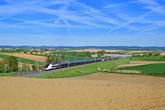 """TGV 4708 """"SNCF"""" Ingenheim (Matthias Greinwald) Tags: tgv sncf strasburg ingenheim hochgeschwindigkeitsstrecke elsass duplex inoui"""