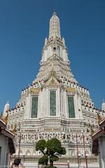 Wat Arun in the morning, Bangkok, Thailand (Alaskan Dude) Tags: travel thailand bangkok watarun temple buddhist art architecture thaiculture cityscape tourist tourists