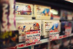 Final Fantasy Super Famicom (Jon Siegel) Tags: nikon d810 35mm 14 nikkor35mmf14 nikkor35mmf14ais famicom superfamicom games retro antiques shop akihabara japan japanese tokyo shopping