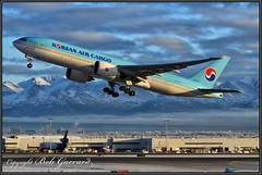 HL8044 Korean Air Cargo (Bob Garrard) Tags: hl8044 korean air cargo lines boeing 777 anc panc