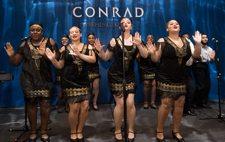 April 09, 2019 MMB Celebrated Grand Opening of Conrad Washington, DC at CityCenterDC