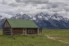 Mormon Row House - Grand Teton National Park 7I4A3926 (raddox) Tags: grandteton nationalpark mountain mormonrow house logcabin mormon