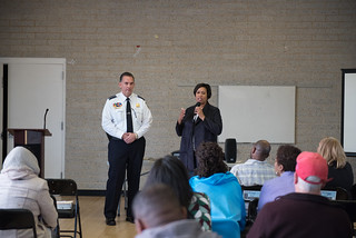 April 06, 2019 MMB Met with the Hillcrest Community Civic Association to Address Public Safety Concerns
