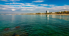 Salou. (Ricardo Pallejá) Tags: sea mar mediterráneo nikon naturaleza d500 salou tarragona travel tokina1116 agua water sun summer street lightroom landscape luces light catalonia cataluña catalunya viajes viajar colors color sol