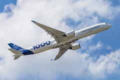 LBG - Airbus A350-1041 (F-WMIL) Airbus Industrie (Shooting Flight) Tags: aéropassion airport aircraft airlines aéroport aviation avions airbus canon 6d photography photos passage paris parislebourget lebourget a350 a3501000 a3501041 a350xwb industrie natw fwmil