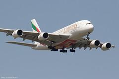 A6-EDU (Baz Aviation Photo's) Tags: a6edu airbus a380861 emirates uae ek heathrow egll lhr ek1