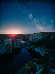 Goldiggens Quarry (Timothy Gilbert) Tags: minions milkyway astrophotography wideangle goldiggensquarry bodminmoor m43 microfourthirds lumix microfournerds lovecornwall laowacompactdreamer75mmf20 gx8 panasonic cornwall