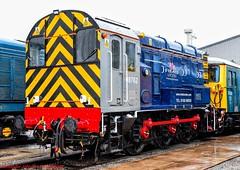 08762 @ Crewe (A J transport) Tags: diesel shunter 08762 crewe locomotive rms locotec railway trains england