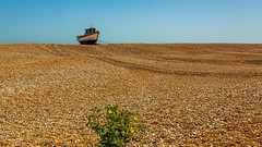 Minimal (Ian Emerson (Thanks for all the comments and faves) Tags: dungeness kentcoast kent beach abandoned derelict fishingnets fishingindustry shingle england sailing surreal lonely photography vegetation dwelling indoor seascape outdoor canon6d photogenic summer bigsky tourism