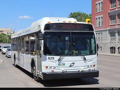 Winnipeg Transit #629 (vb5215's Transportation Gallery) Tags: winnipeg transit 2012 new flyer d40lfr
