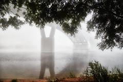 Foggy morning (Staropramen1969) Tags: morning bridge river fog morgen brücke fluss nebel brouillard de rivière pont du matin