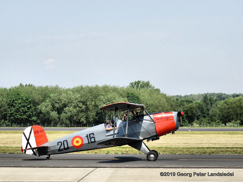 Flugzeug Bücker Bü-131 Jungmann (E3B-412)