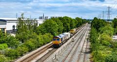66753 at Castle Donington (robmcrorie) Tags: castle donington nikon d850 rail train railway 66753 6x01 scunthorpe eastleigh ratcliife power station ratcliffe