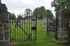 Goodwill Cemetery (rchrdcnnnghm) Tags: cemetery tombstones goodwillny montgomreyny orangecountyny gate rustyandcrusty
