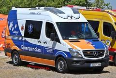 Protección Civil Galapagar (emergenciases) Tags: emergencias españa 112 comunidaddemadrid vehículo ambulancia ambulance mercedesbenz mercedes sprinter galapagar proteccióncivilgalapagar svb soportevitalbásico