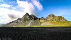 Iceland_1963 (Lothar Heller) Tags: lotharheller beach berge blackbeach iceland island islandia mountain strand