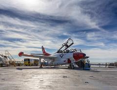 T-2 Buckeye @USS Midway (harald152) Tags: fury trainingaircraft aircraft northamericanaviation buckeye t2 carrier navy topgun ussmidway jet