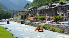 Sur le Giffre (myvalleylil1) Tags: france hautesavoie alpes montagne sixtferàcheval rivière giffre sport rafting