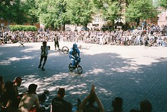 Bike Wars 2019 (subway rat) Tags: 35mm analog film analogphotography filmphotography olympus μmjuii mjuii mju2 olympusmjuii fujisuperia400 fuji fujifilm ktown ktown2019 ktownhardcorefest bikewars bikewars2019 copenhagen denmark københavn danmark nørrebro blågårdsplads punk hardcore bike punx punks filmforever filmisnotdead filmcamera shootfilm ishootfilm staybrokeshootfilm streetphotography copenhagenstreetphotography