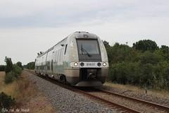 B81837/38 sur le TER 864481 Niort - Royan (Le Rail de L'ouest) Tags: train livréeaquitaine garederoyan garedeniort rail deuxsèvres terpoitoucharentes ternouvelleaquitaine bgc agc ter