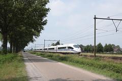 ICE 4611 te Horst Sevenum (vos.nathan) Tags: horst sevenum hrt db deutsche bahn br 406 baureihe ice 6411 europa