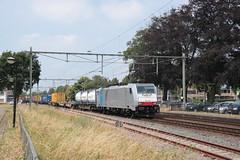 LINEAS 186 450 te Horst Sevenum (vos.nathan) Tags: br 186 baureihe traxx horst sevenum hrt lns lineas 450 segrate shuttle