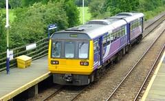 Northern Pacer . (steven.barker57) Tags: northern arriva north east class 142 pacer 142023 diesel dmu multiple unit british old passenger train trains platform
