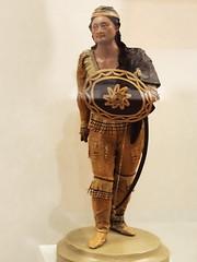 figura escultura de cera Indio lipán guerrero 1850 Andres Garcia Mexico Museo de America Madrid (Rafael Gomez - http://micamara.es) Tags: figura escultura de cera indio lipán guerrero 1850 andres garcia mexico museo america madrid
