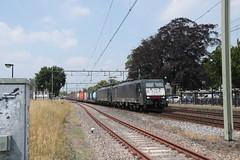 SBB 189 095 en 090 te Horst Sevenum (vos.nathan) Tags: br 189 baureihe sbb 095 090 horst sevenum hrt cargo schweizerische bundesbahnen chemins de fer fédéraux suisses cff ferrovie federali svizzere ffs
