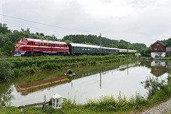 Nohab M61.017 (gerhard.1962) Tags: mav m61017 nohab m61 sonderzug kritzendorf franzjosefsbahn spiegelung zug bahn trainspotting nikon nikonlenses juni juni2019
