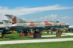 Mig 21-F13 501 Bulgarian Air Force (EI-DTG) Tags: plovdiv 20jun2019 fastjet preservedaircraft militaryaircraft militarymuseum bulgaria mig21 501 bulgarianairforce