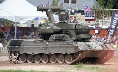 Leopard PRTL (delta23lfb) Tags: bovington tankmuseum armour trackedvehicle leopard1 leopardtank antiaircraft radar historiccollection royalnetherlandsarmy unionjack unionflag