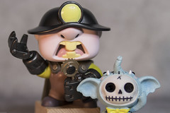 And introducing .. (DayBreak.Images) Tags: tabletop stilllife toy funkopop incredibles figure furrybones elephant resin figurine canondslr lomography neptune despina 50mm ringlight manfrottolumimuse lightroom