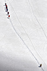 an end and a new beginning (davide.alberani) Tags: courmayeur monte bianco montebianco mont blanc montblanc skyway funivia cableway helbronner punta glacier snow val daosta aosta mountain montagna alpinismo ghiacciaio climbing sony a6000