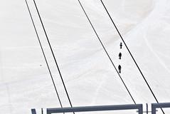 get in line (davide.alberani) Tags: courmayeur monte bianco montebianco mont blanc montblanc skyway funivia cableway helbronner punta glacier snow val daosta aosta mountain montagna alpinismo ghiacciaio climbing sony a6000