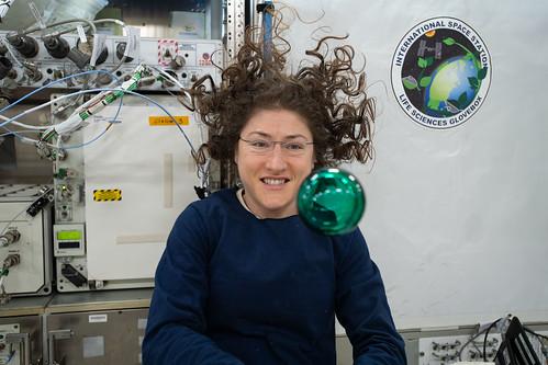 Expedition 60 Flight Engineer Christina Koch of NASA