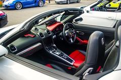 Porsche Boxster Interior (Brian Travelling) Tags: porsche boxster interior sports car leather